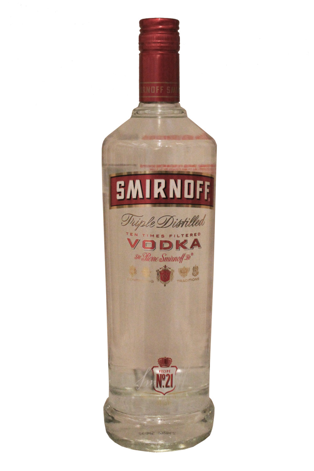 Triple Distilled Vodka  Smirnoff,  Russia