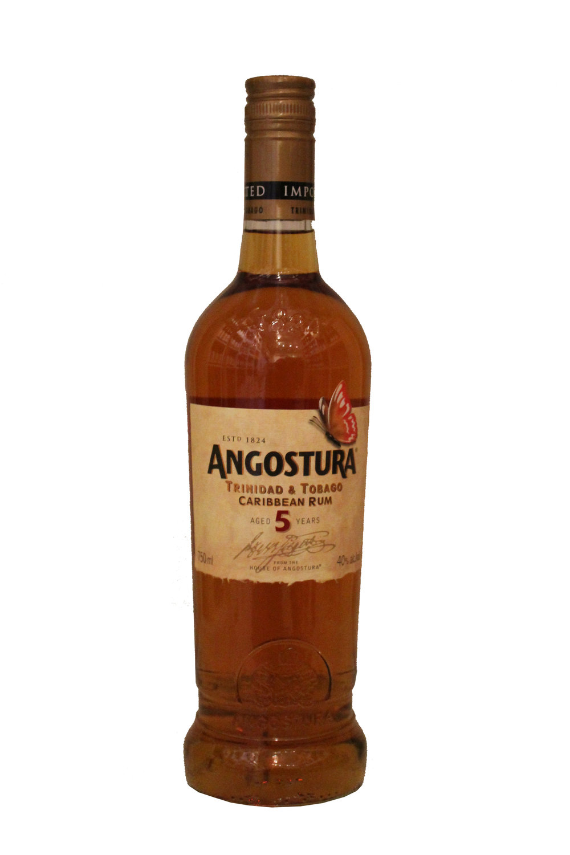 5 Year Aged Caribbean Rum  Angostura, Trinidad