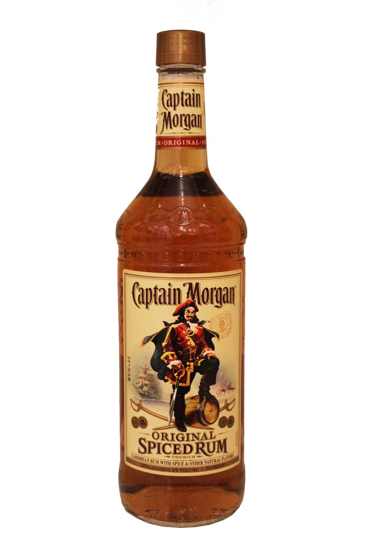 Spiced Rum  Captain Morgan, St. Croix