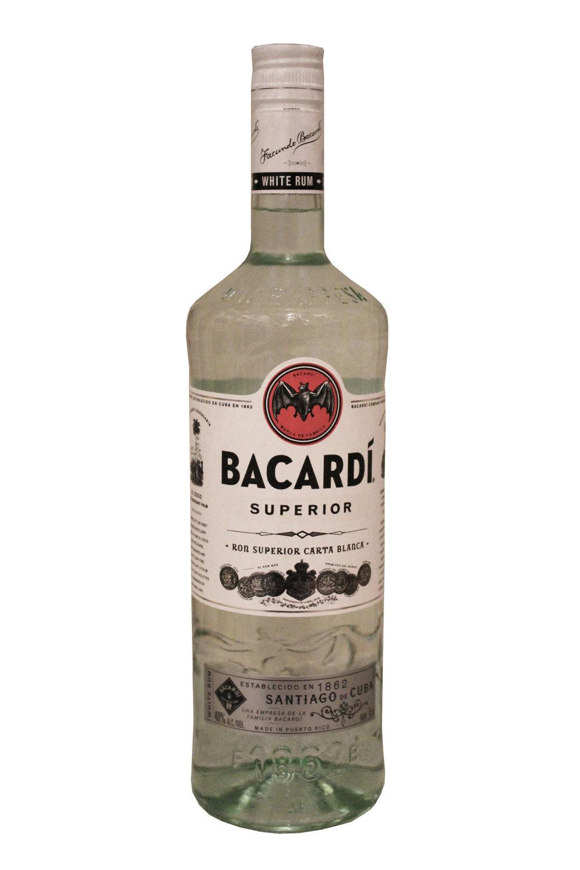 Superior White Rum  Bacardi, Puerto Rico