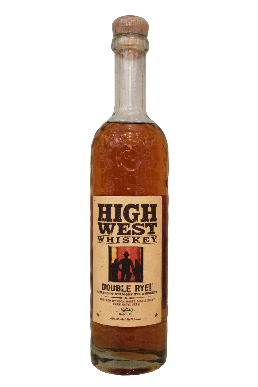 Double Rye Whiskey High West Whiskey, Utah