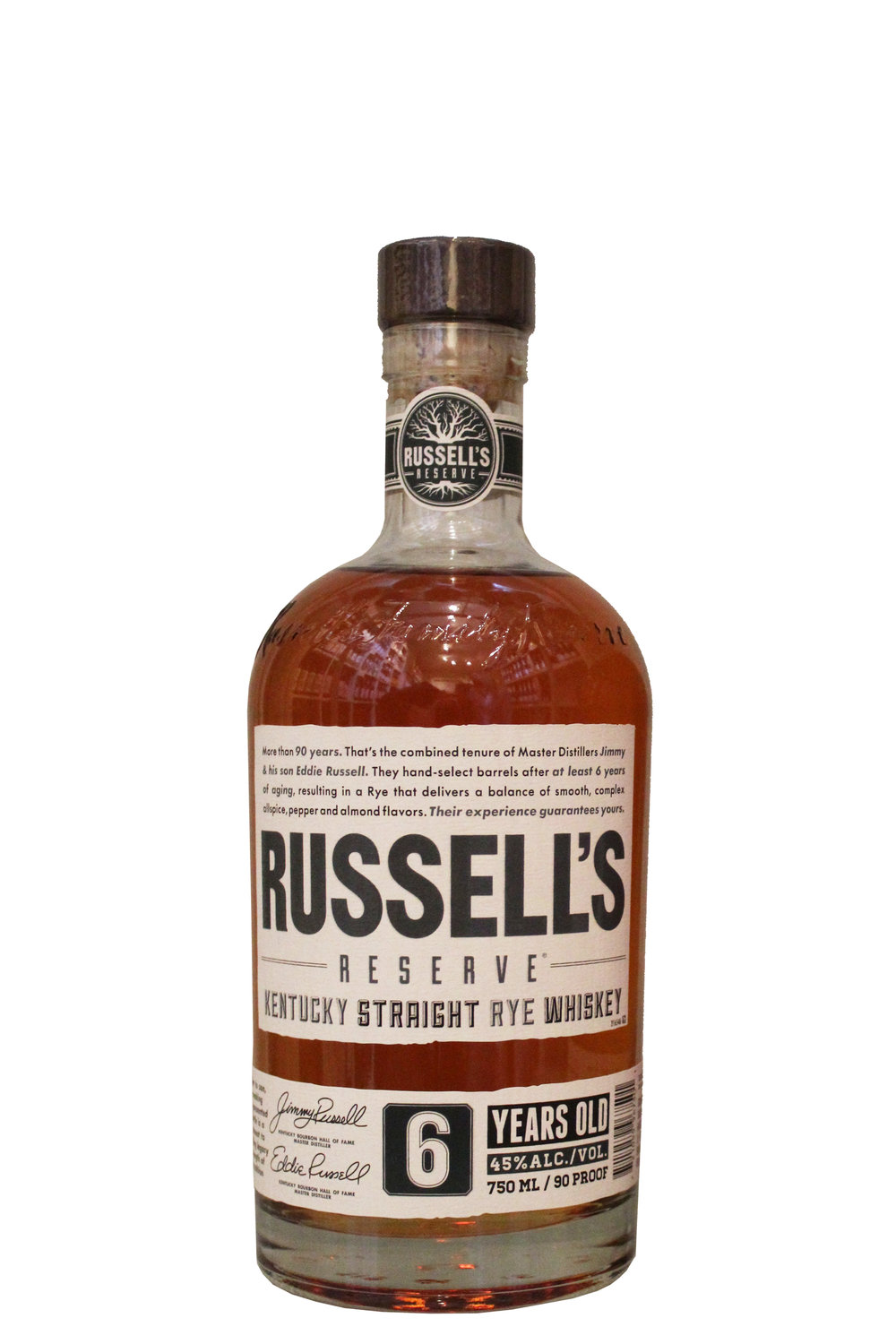 Rye Whiskey Russell's Reserve, Kentucky
