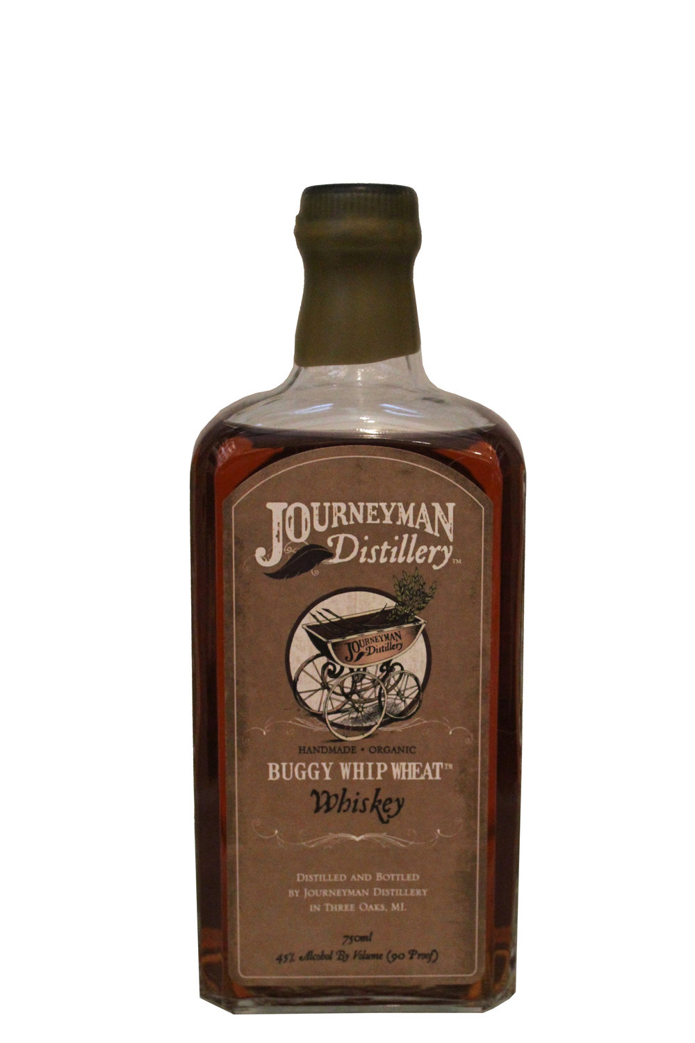 Whip Wheat Whiskey  Journey Man Distillery,  Michegan