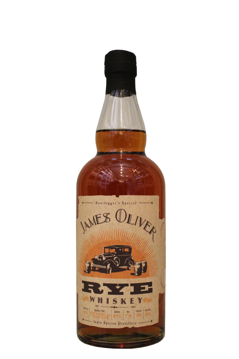 Rye Whiskey James Oliver, Oregon