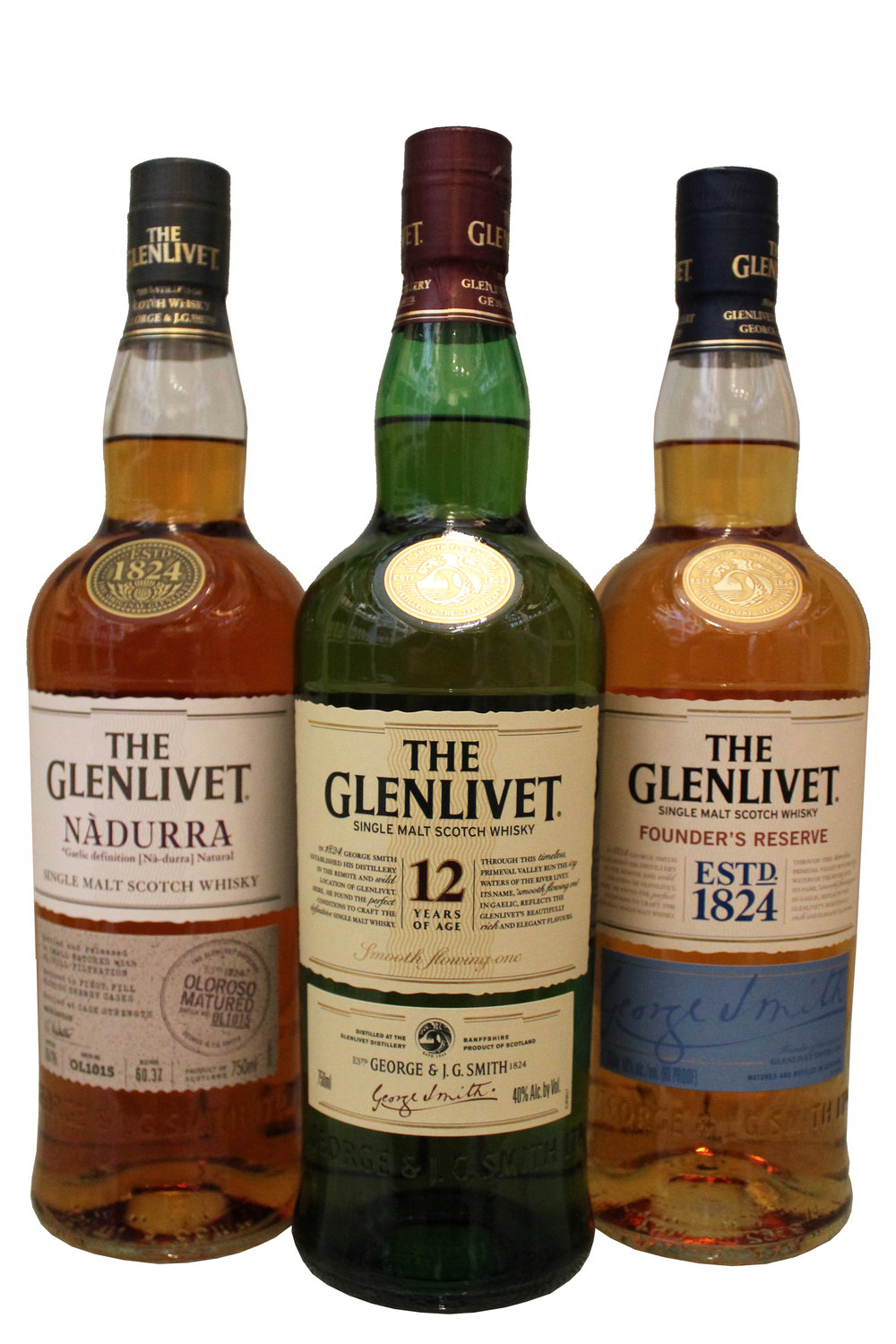 The Glenlivet Single-Malt Scotch Whiskey Collection
