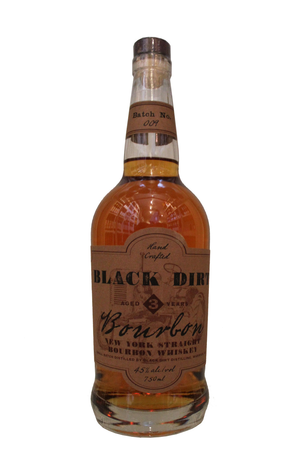 Bourbon Whiskey  Black Dirt,  New York