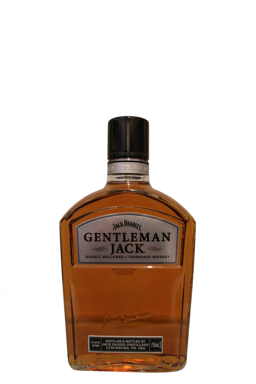 Double Mellowed Whiskey  Gentleman Jack,  Tennessee