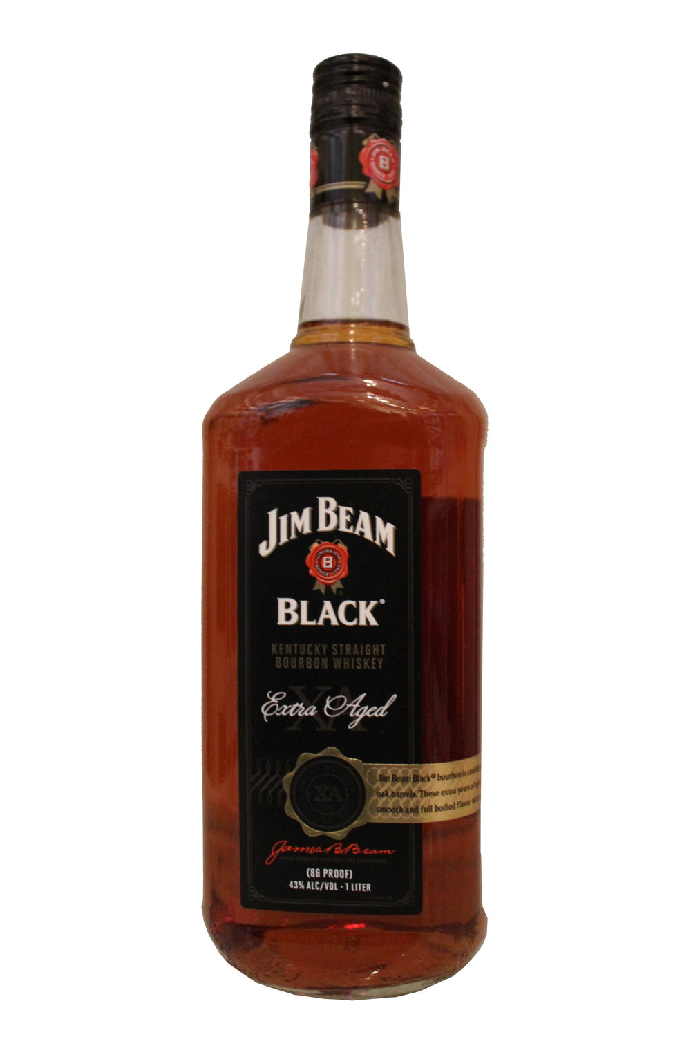 Aged Bourbon Whiskey  Jim Beam Black,  Kentucky
