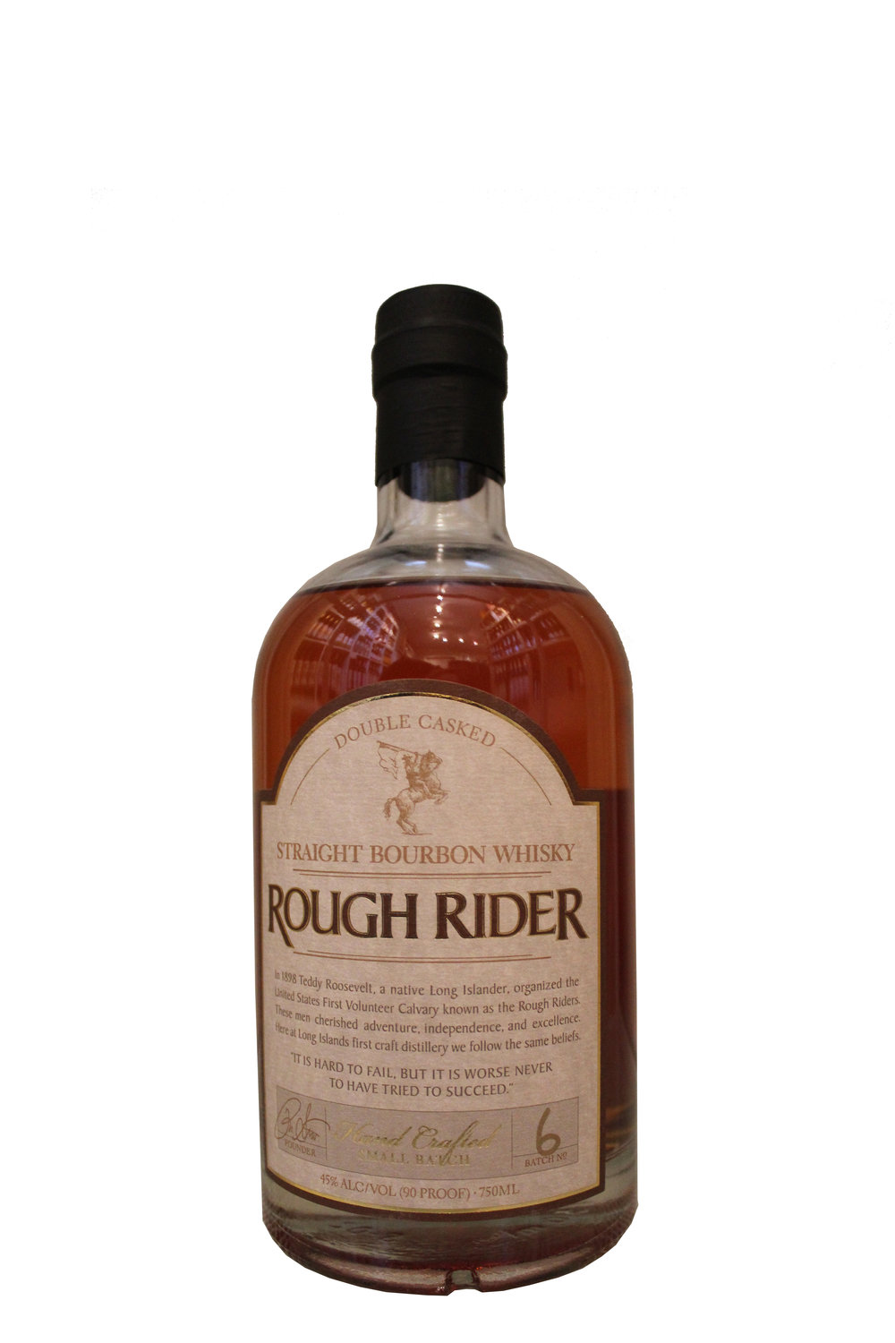 Double Casked Bourbon Whiskey  Rough Rider,  New York