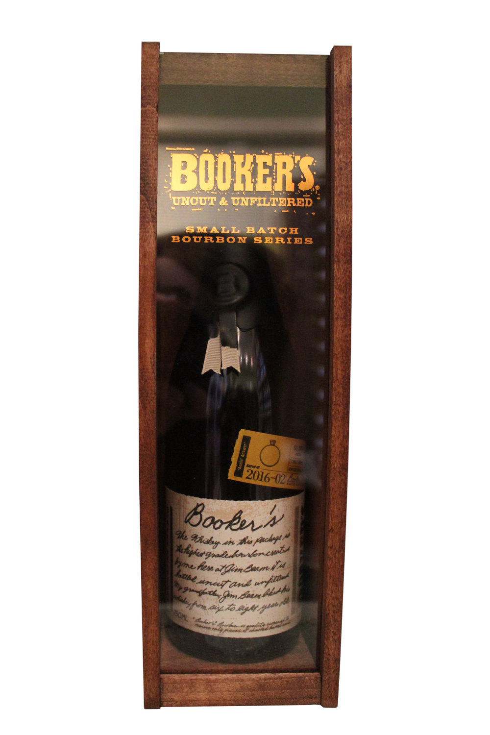 Small-Batch Bourbon Booker's, Kentucky