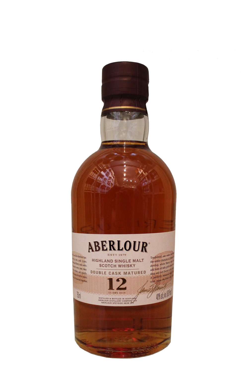 Double Cask-Aged Scotch Whiskey  Aberlour,  Scotland