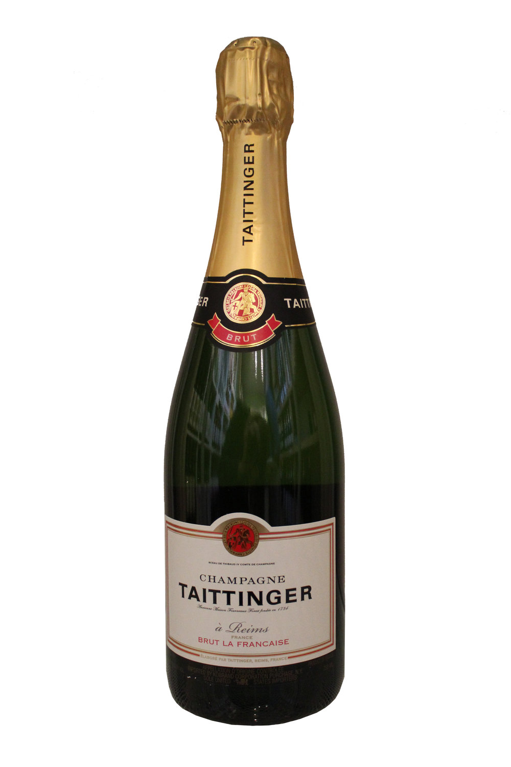 Champagne Brut Taittinger, France