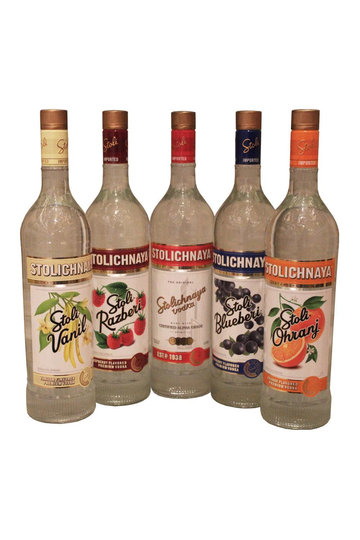 Stolichnaya Flavored Vodkas