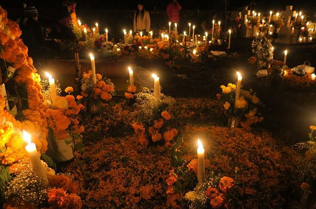 A very sacred experience for Dia de Muertos.