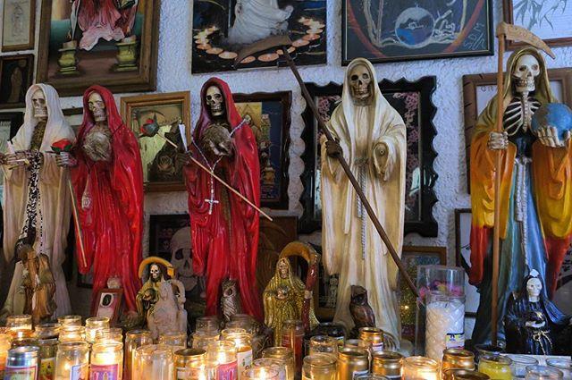 Templo a La Santa Muerte 💀
