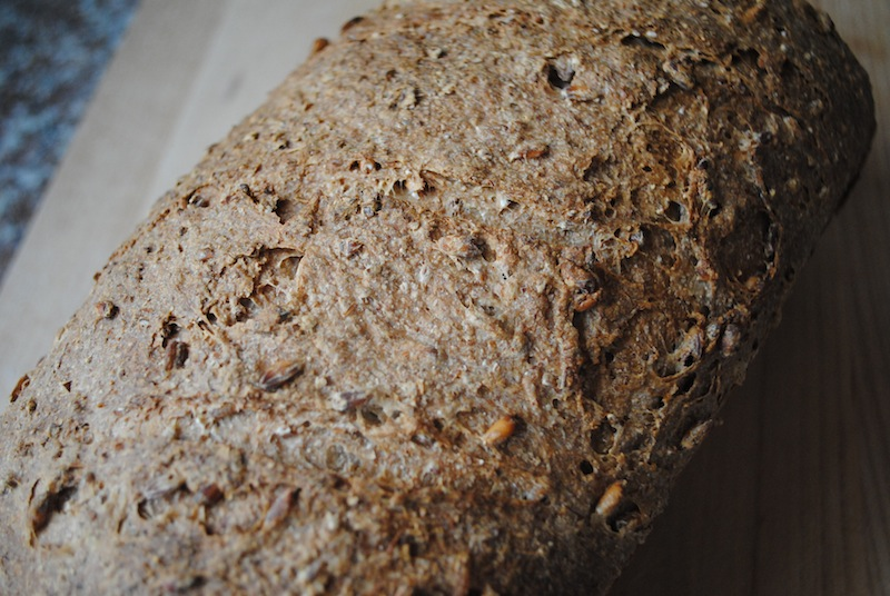 Sprouted Wheat Loaf Crust