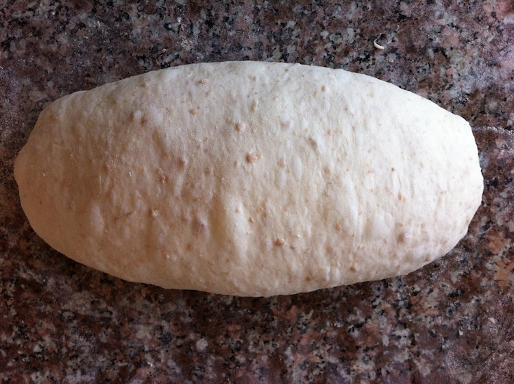 Sprouted Wheat Country Bread Dough