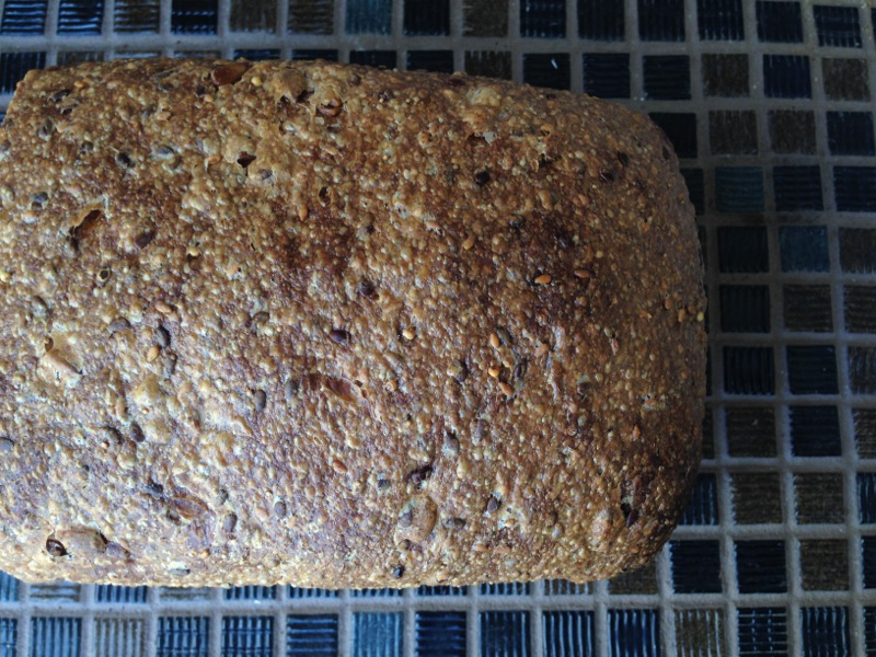 Seeded Sourdough Sandwich Bread Loaf