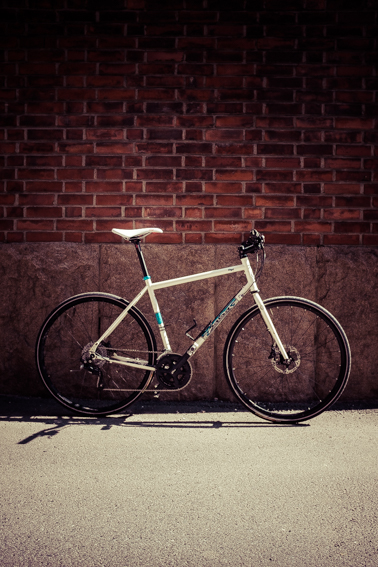 Celia, a sturdy steel frame built with reliable parts.