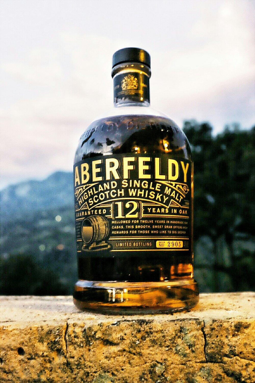 On this trip, we're tasting Aberfeldy 12 years.