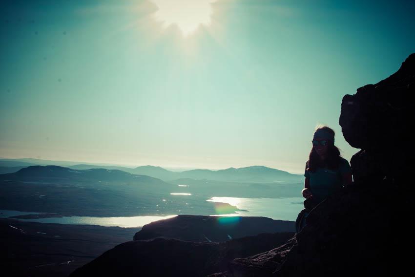 Utsikt mot den norske siden av Sylene.