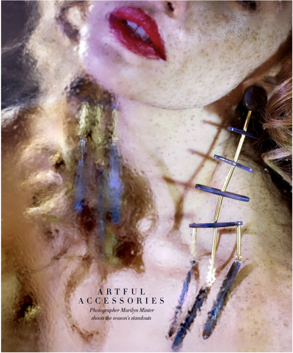 Photographed by: Marilyn Minter  Hair