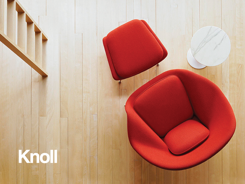 Knoll - Art direction for Knoll Space advertisement in Dwell Magazine