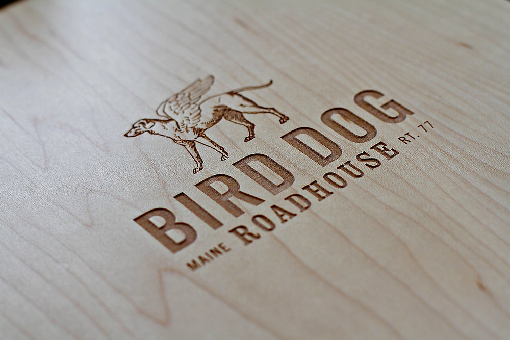Bird Dog Roadhouse Menu Boards