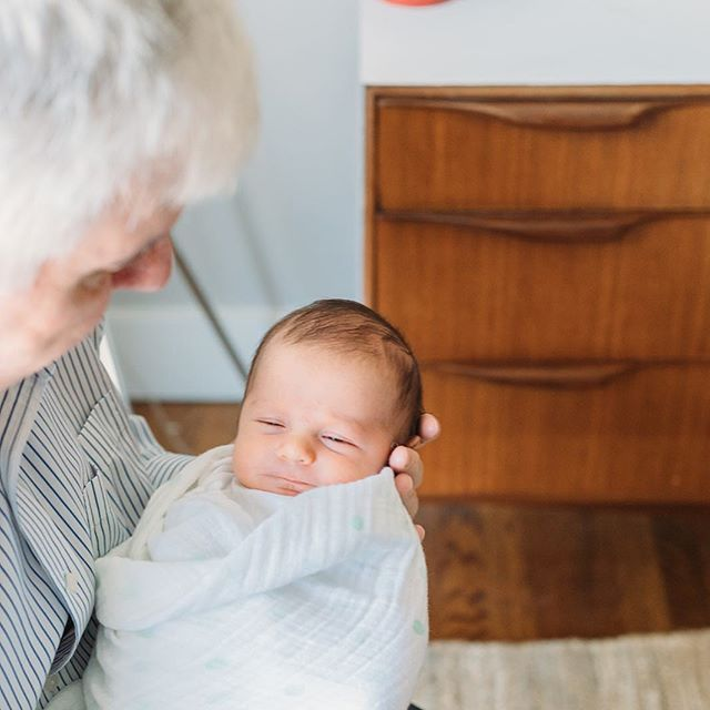 Just a baby and his g-Dad! What's your favorite grandparent names? @honeynordyke #levisammy @lucasdhogan @hogan11364 📷: @kellychristinesutton