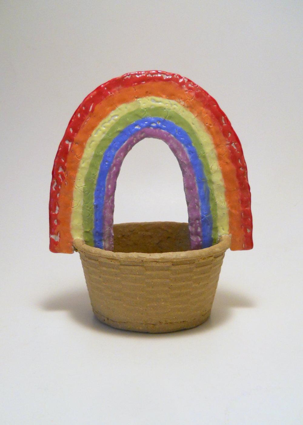 Rainbow Cheese Basket