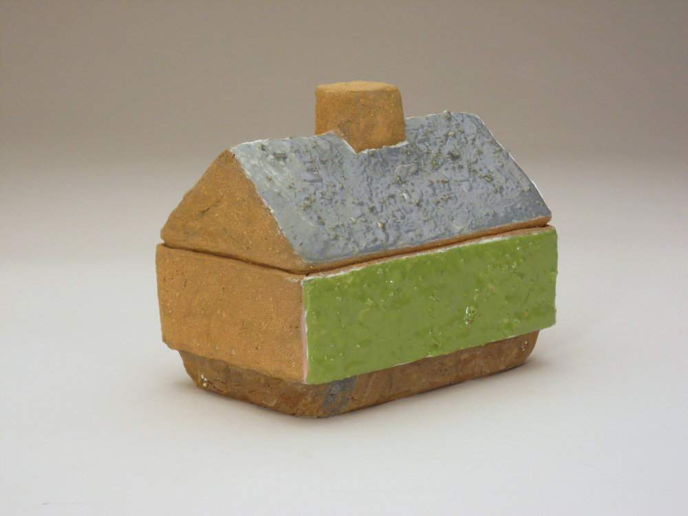 Mossy Tract House Box