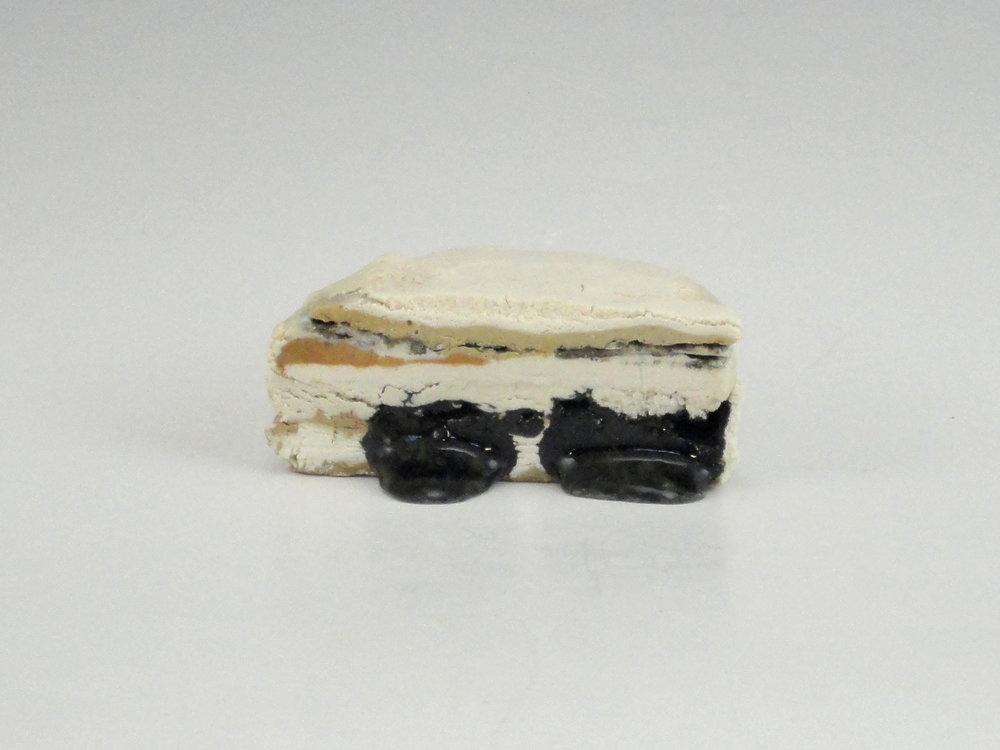 Oil Sands Core Sample Cake