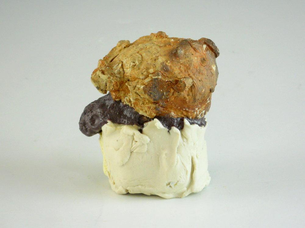 Single Scoop of Sandstone with Igneous Grape Sorbet