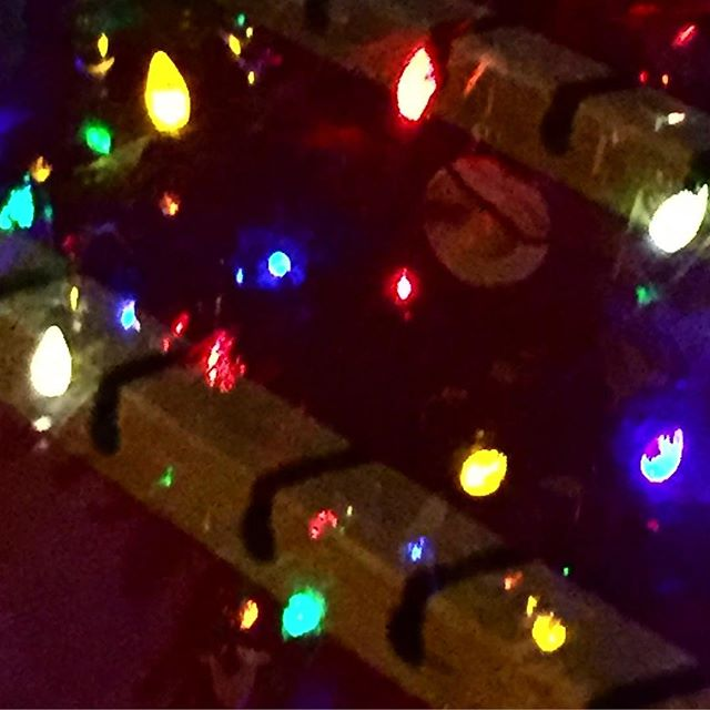 only 4 more days until I start posting pictures of something else #theme #cozy #christmaslights #notmuchgoingon