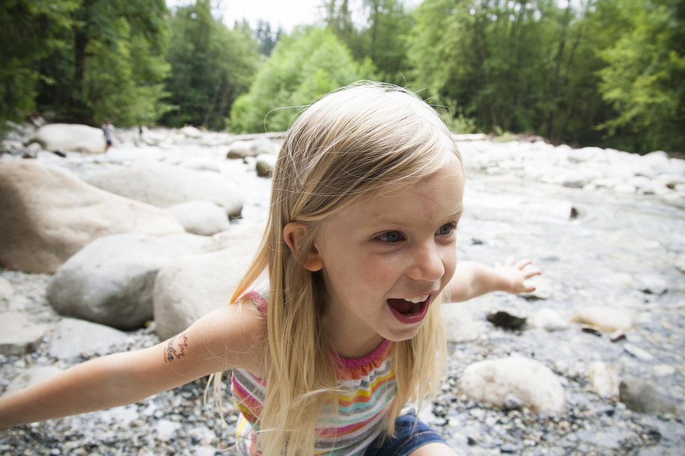 Nature-based childcare is important for physical development