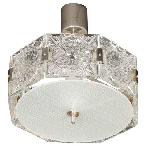 Mid century modernist sunburst design etched glass chandelier by mid century modernist sunburst design etched glass chandelier by kinkeldey aloadofball Choice Image