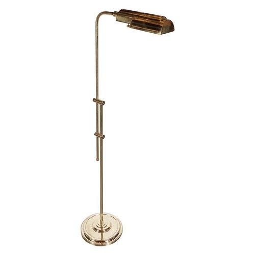Mid century modernist brass adjustable floor lamp american circa mid century modernist brass adjustable floor lamp american circa 1960 mozeypictures Gallery