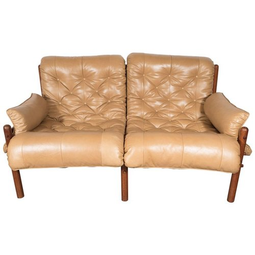 Inca Safari Lounge Sofa in Butterscotch Leather by Arne Norell ...