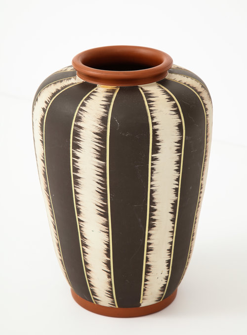 West German Mid Century Modern Pottery Vase Babou