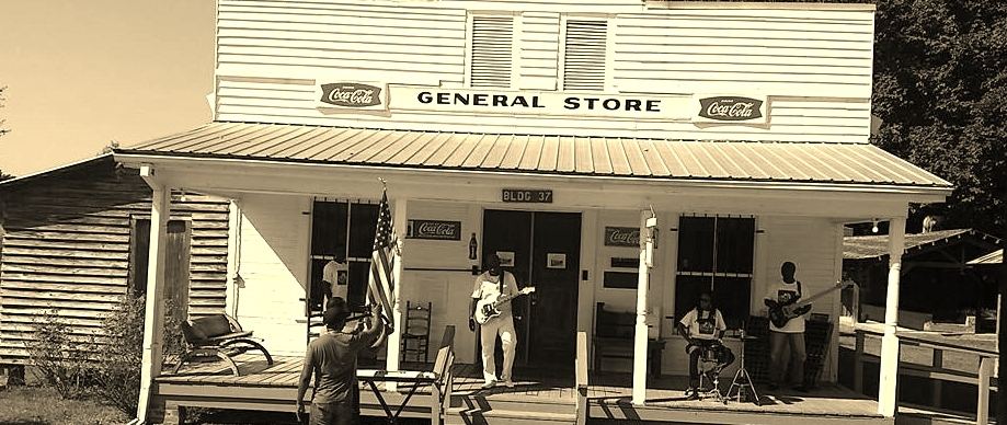 Dexter filming a music video in his home state of Mississippi.