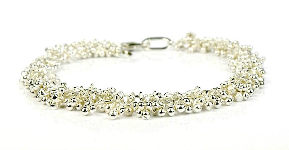 Shimmer bracelet in sterling silver
