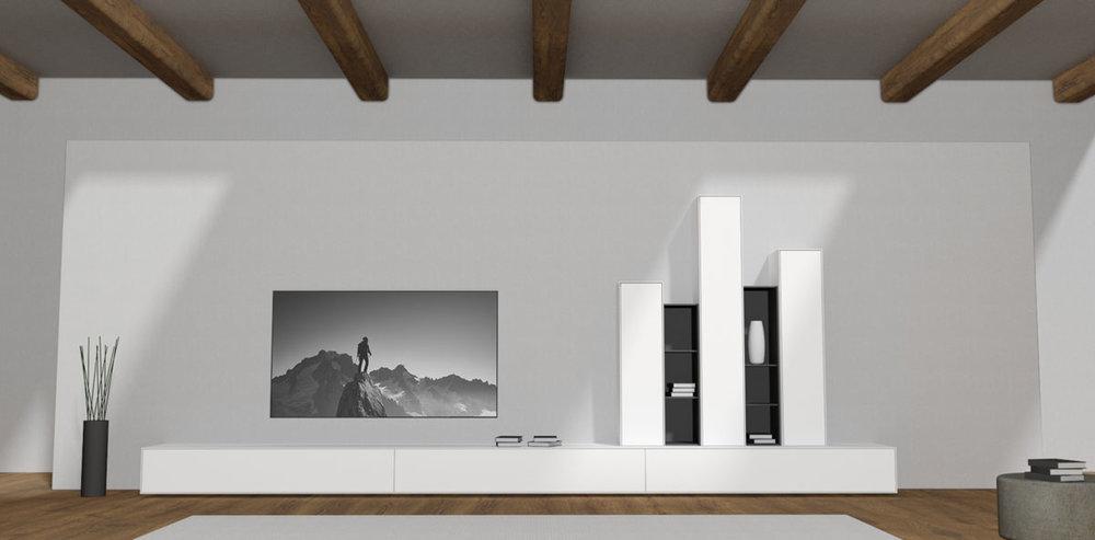 Tv meubel op maat design meubels op maat for Goedkoop interieur