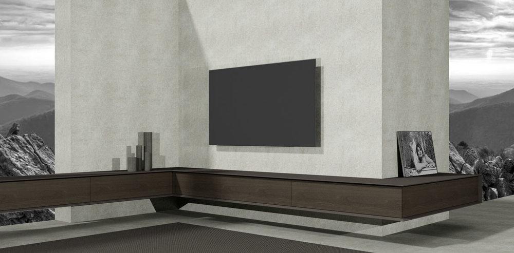 Tv meubel op maat design meubels op maat - Tv hoek meubels ...