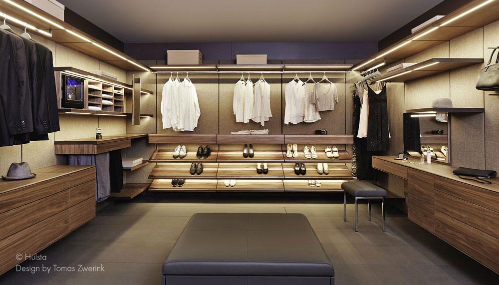 Inloopkast op maat u design meubels op maat