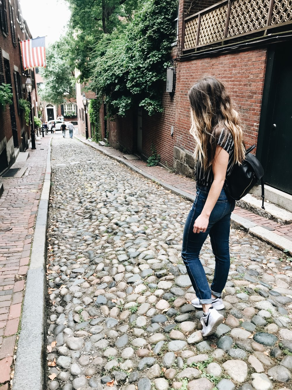 Acorn Street in Boston!