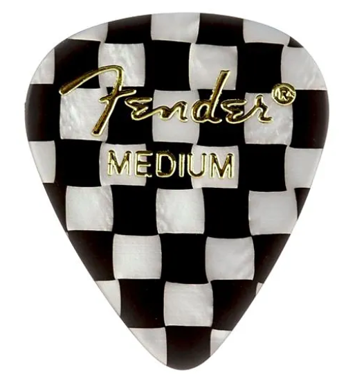 Your Classic Fender Mediums - I find picks everywhere and lose them constantly (but usually find again them in the dryer, couch cushions, and car glove compartment!). It's always something I need! I especially like these checkerboard picks because they remind me of old skool Vans!