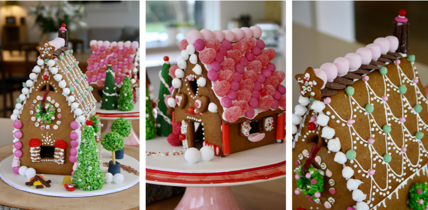 Nice gingerbread houses