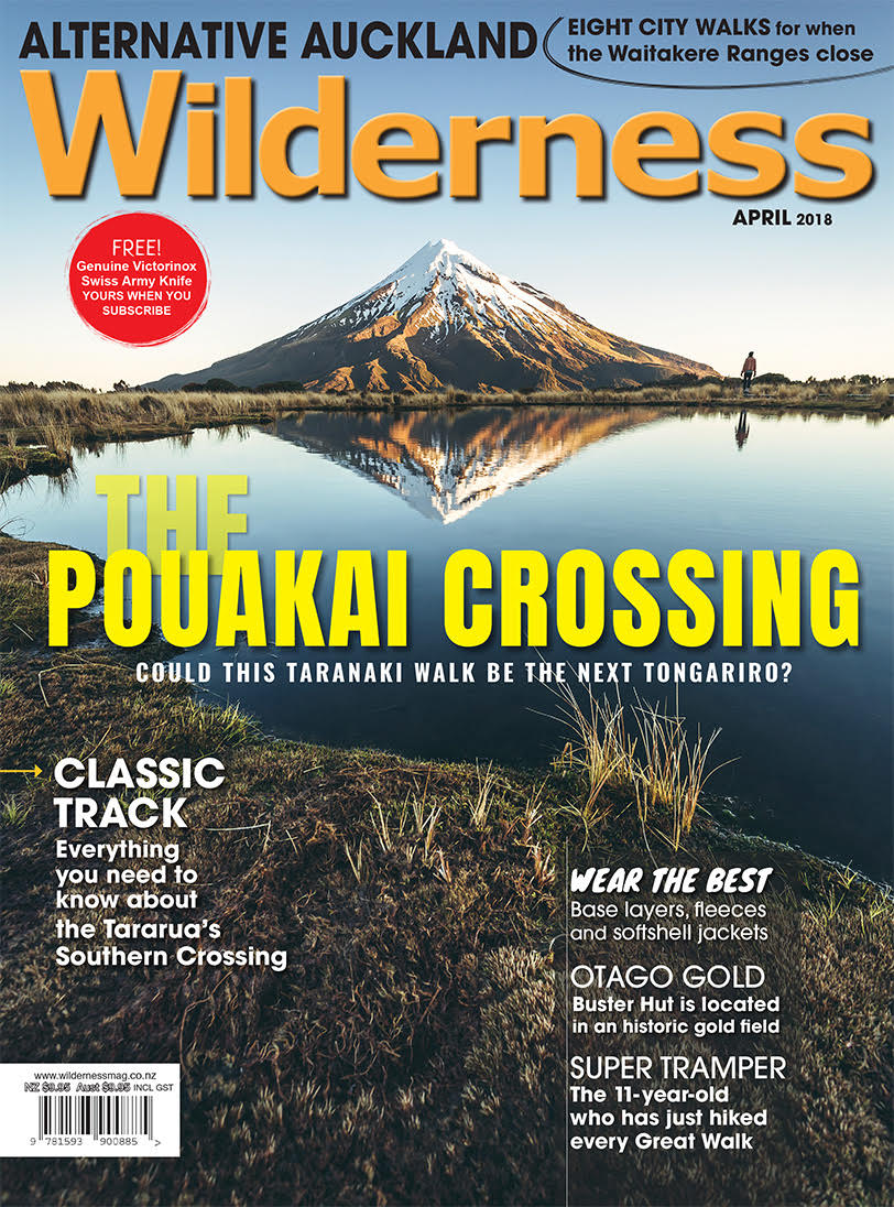 Wilderness Magazine cover.