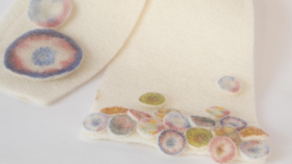 Textile design #3 felting