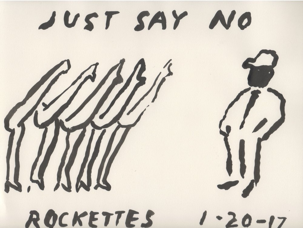 Just Say No Rockettes